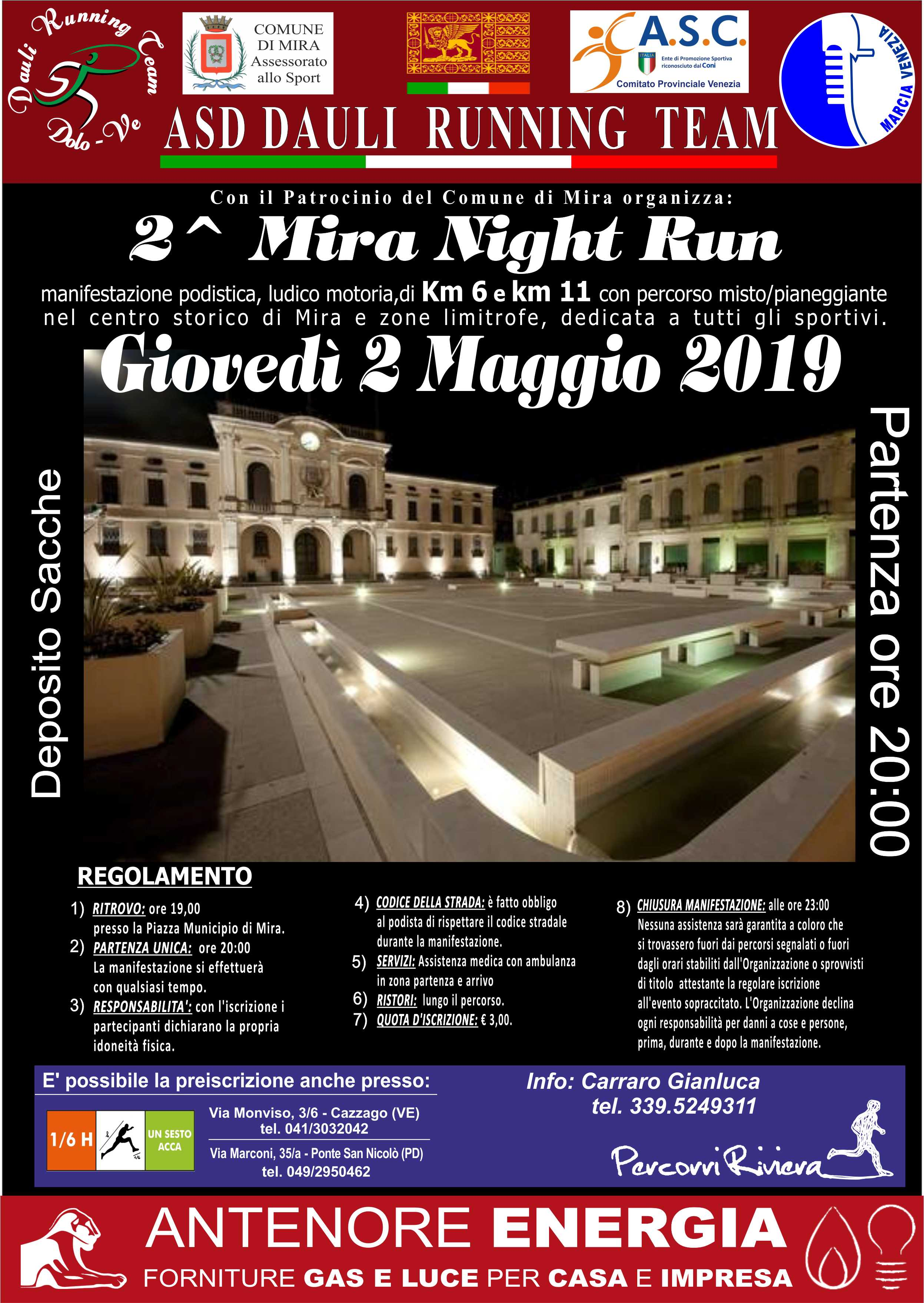 2^ Mira Night Run