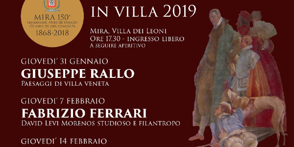 Conferenze in Villa 2019